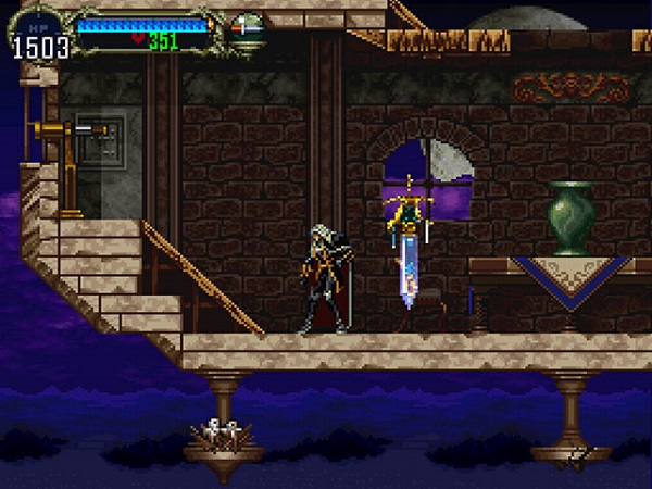 Symphony of the Night allowed players to double their game length upon completion of the main quest.