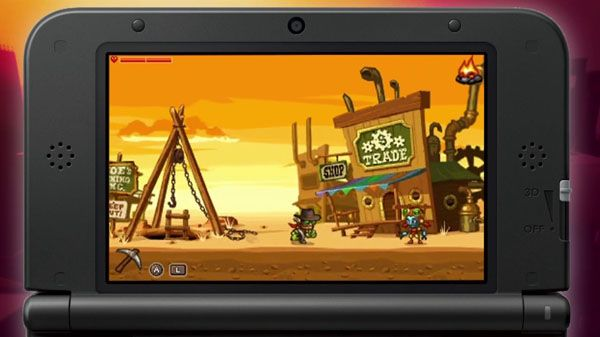 Would Nintendo have so proudly have allied themselves with SteamWorld Dig if it wasn't a 2D platformer?